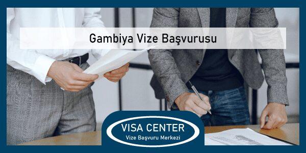 Gambiya Vize Basvurusu