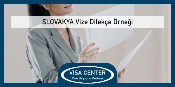 Slovakya Vize Dilecke Ornegi