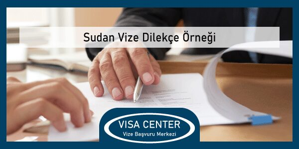 Sudan Vize Dilekce Orneg