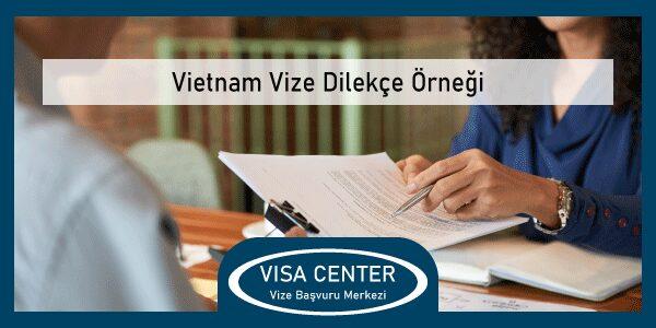 Vietnam Vize Dilekce Ornegi